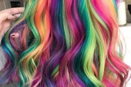 Amazing Rainbow Hair Color Ideas for 2018