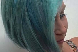 Aqua Blue Hair Color Ideas for 2018