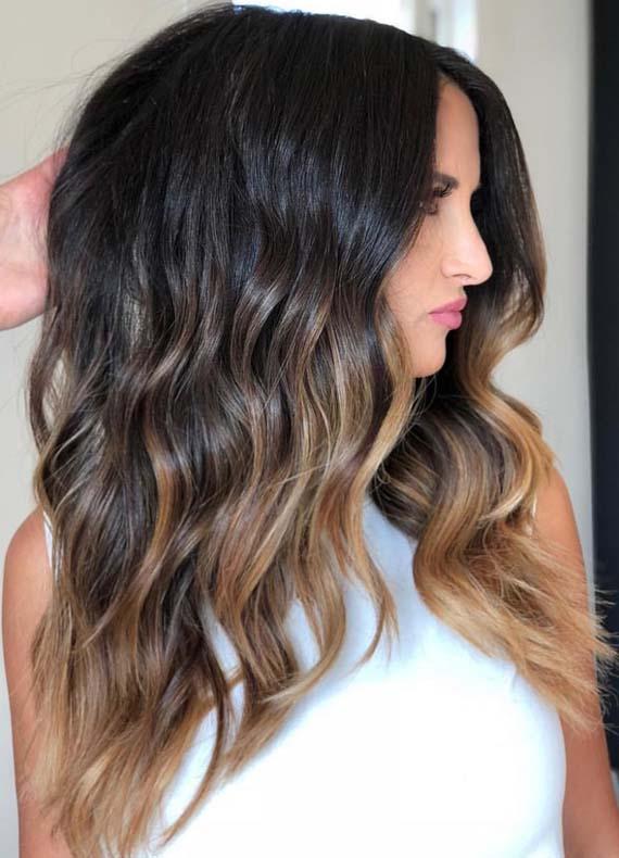 Balayage Sombre Hair Color Ideas for 2018