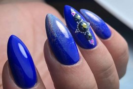 Blue Nail Art Designs for Women 2018