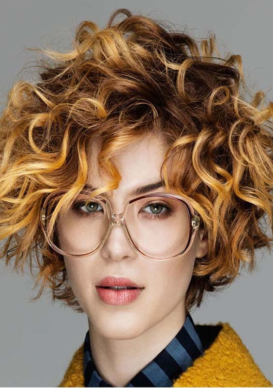 Fabulous short Curly Hairstyles for 2018