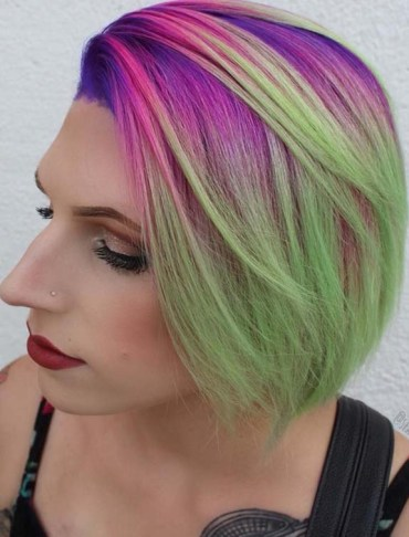 Modern Hair Colors for Short Hair Styles in 2018
