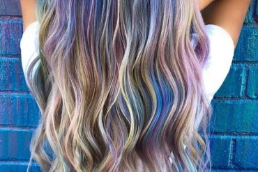 Muted Mermaid Hair Color Melts to Try Right Now