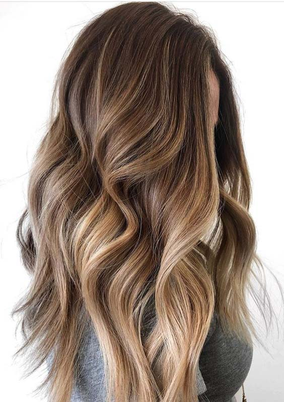 Obsessed Balayage Hair Color Trends for 2018