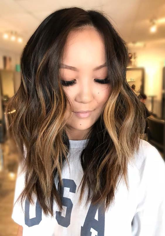 Stunning Brunette Balayage Hair Colors Highlights For 2018 Stylezco