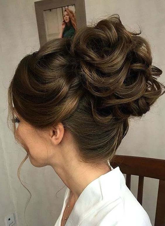 Updo Bun Haircuts for 2018
