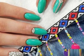 Wonderful Green Nail Arts & Designs in 2018