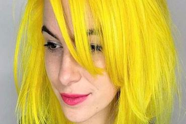 Unbelievable Idea of Yellow Hair Color Highlight for 2018