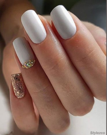 Fantastic White Nail Art Ideas That are More Fun for Girls