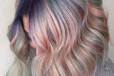 Inspirational Bob Haircuts with Pastel Hair Color Styles for 2018