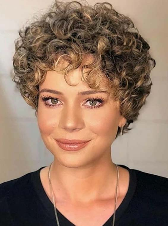 Coolest Ideas Of Short Curls for Women 2018