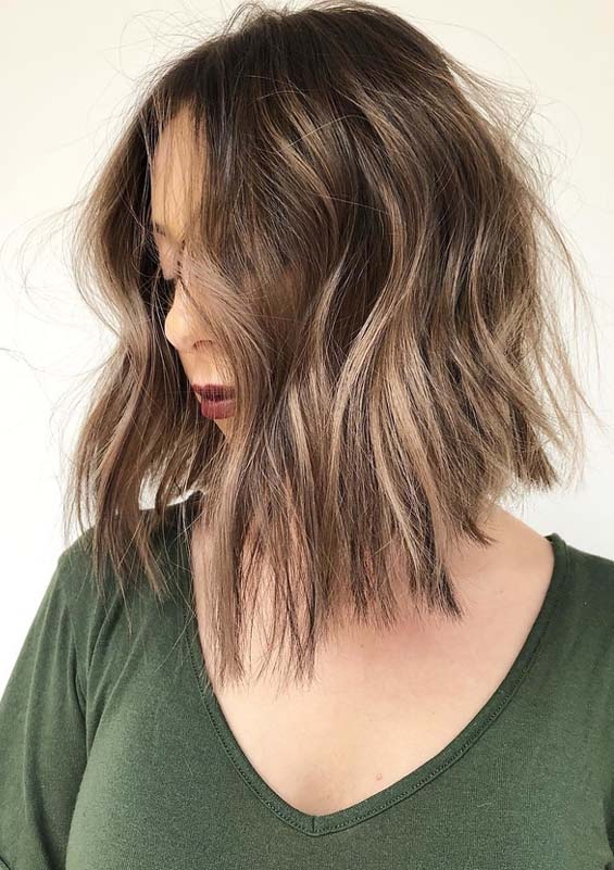 Fantastic Lob Styles & Hair Colr Combinations in 2018