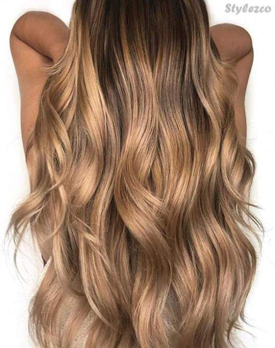 Smart Look Of Light Brown Hair Color Ideas Highlight For 2018 Stylezco