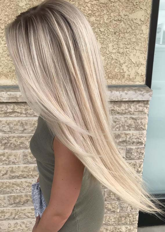 Mind-Blowing Styles Of Blonde Hair Looks in 2018