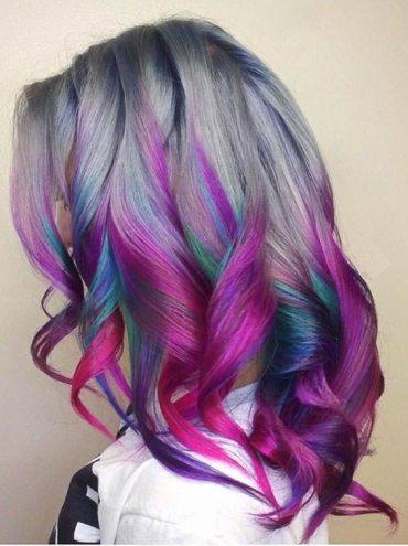 Modern Mermaid Hair Color Ideas in 2018