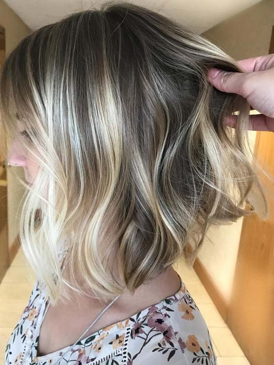 Picture Of A Smokey Blonde Color Idea