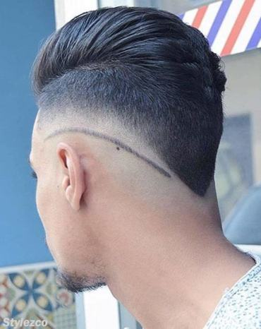 Modern Trends of Backside Hairstyles for Men's In 2018