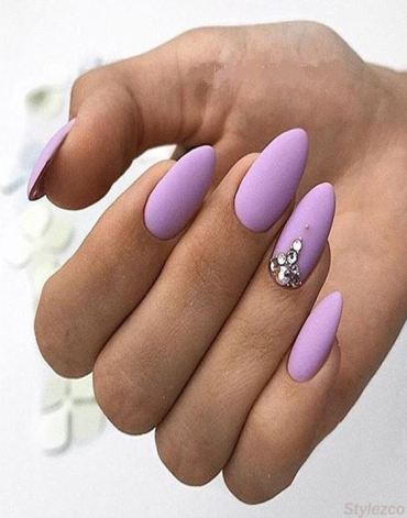 Purple Nail Art Design & Styles for You To Try In 2018