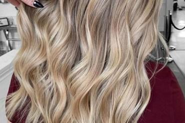Fresh Blonde Balayage Highlights in 2018