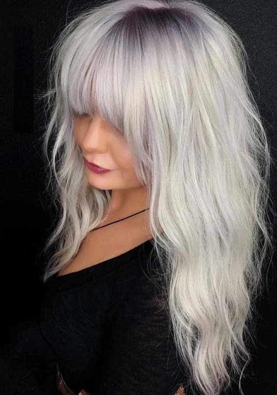 Best Platinum Blonde Hair Colors Amp Highlights In 2018