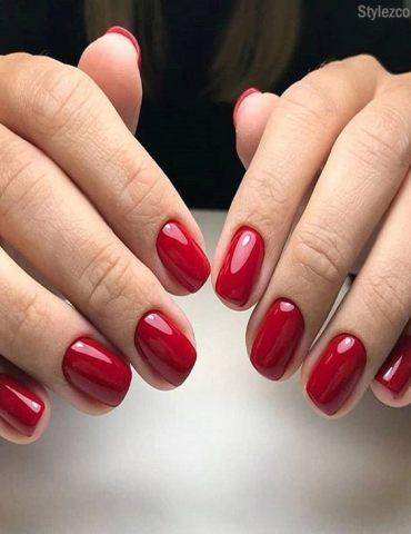 Splendid Red Nail Art Ideas & Styles for Girls