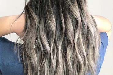 Smokey Balayage Hair Color for Shoulder Length Hair In 2018