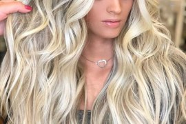 Voluminous Long Thick Blonde Hairstyles for 2018