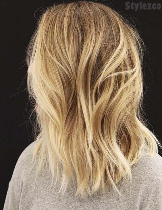 Fresh Light Brown Hair Color Highlight for Blonde Girls In 2019