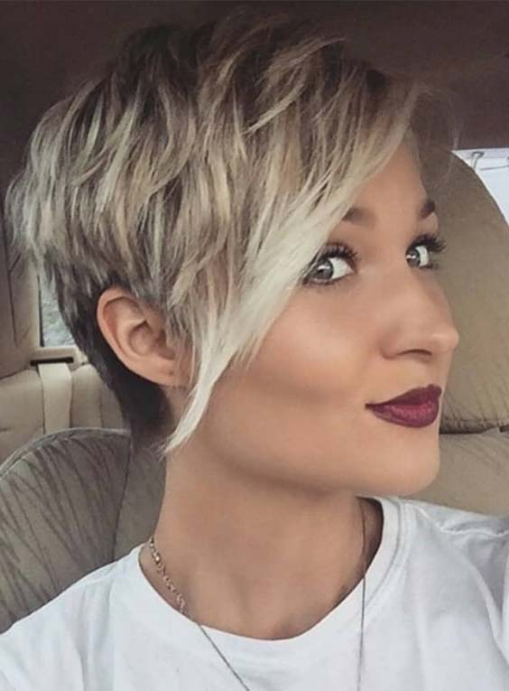 Graceful Pixie Haircuts for Chubby Face in 2019
