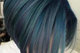 Incredible Blue Bob Haircut Styles for 2019