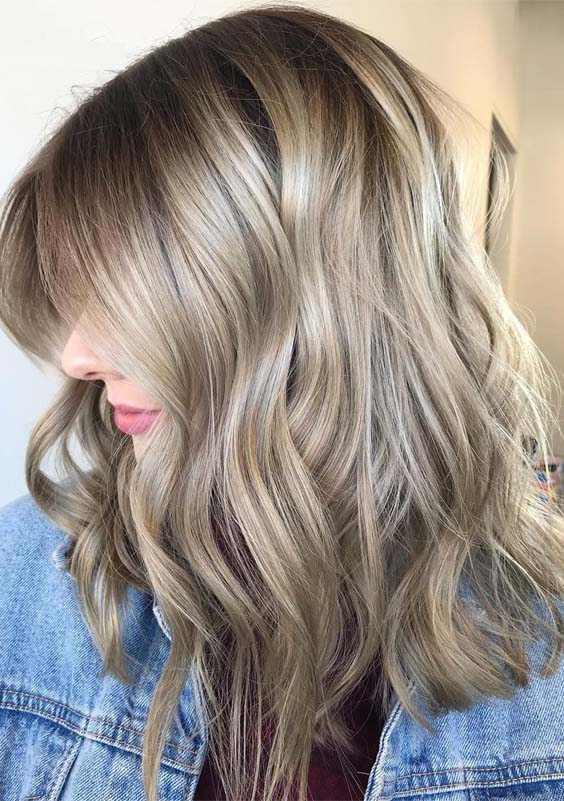Rooty Beige Blonde Hair Colors for 2019