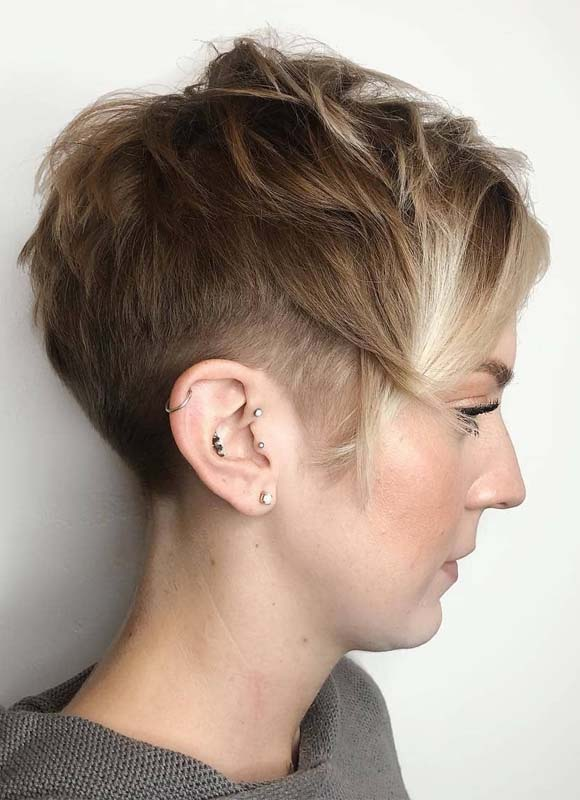 Short Pixie Haircuts for Short Hair in 2019