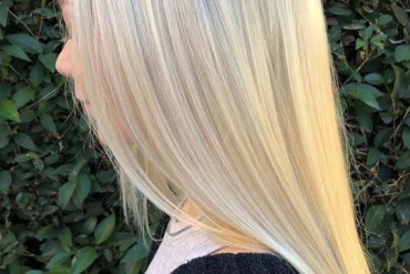 Sleek Straight Blonde Balayage Hairstyles in Year 2019
