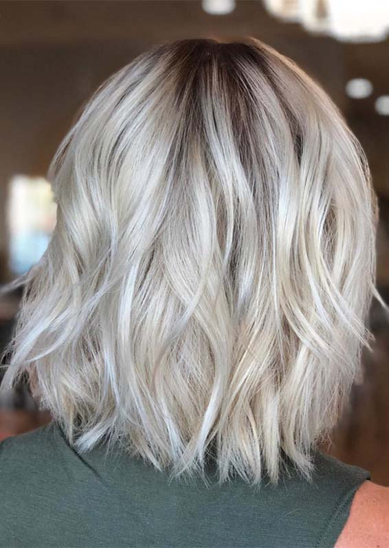 Stylish Blonde Hair Color Ideas for Short to Medium Length Haircuts for 2019