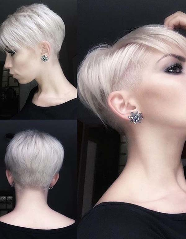 Stylish Blonde Pixie Haircuts in 2019