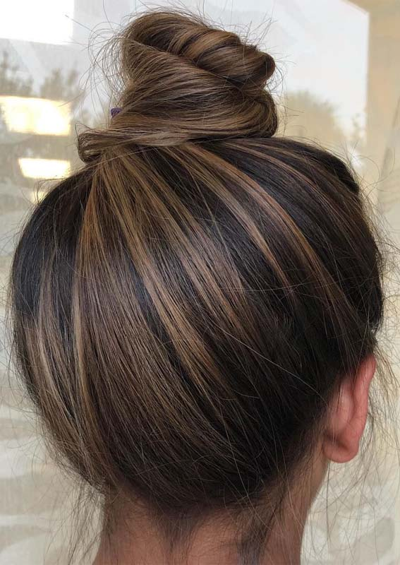 Stylish Top Bun & Updo Styles for 2019