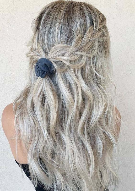 Gorgeous Tied up Braided Hairstyles for Long Hair in 2019 | Stylezco