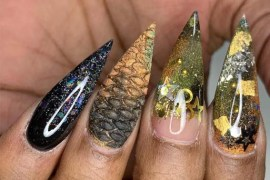 Valentino Acrylic Nail Art Designs IN 2019