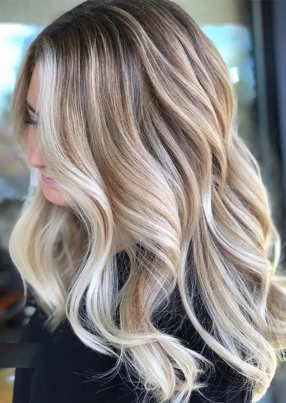 Vanilla Cream Blonde Hair Color Ideas for 2019