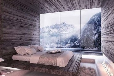 Amazing Bedroom Design with Wiew By Omniview Design for 2019