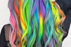 Elegant Rainbow Hair Color Ideas & Styles for 2019