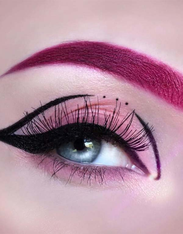 Latest Eye Makeup Trends For Ladies In 2018 2019 Stylezco