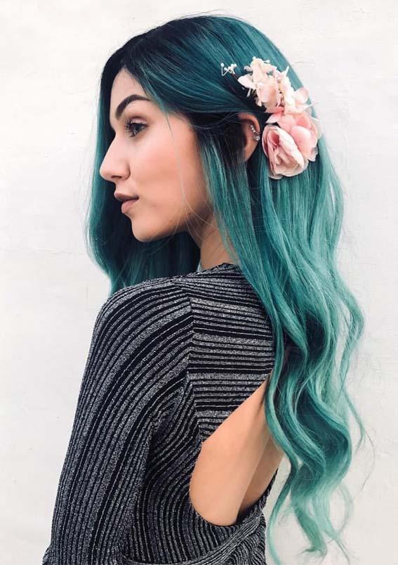 Mermaid Hair Colors & Highlights in 2019