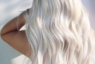 Pure White Hair Color Ideas & Styles for 2019