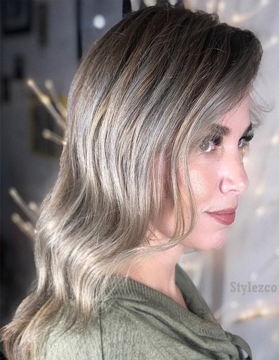 Ash Blonde Hair Color Highlights To Try In 2019