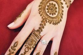 Simple & Cute Mehndi Designs for Wedding Day