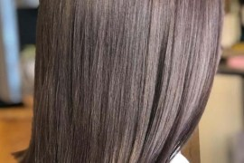 Ash Brown Hair Color Shades for Straight Hair in 2019