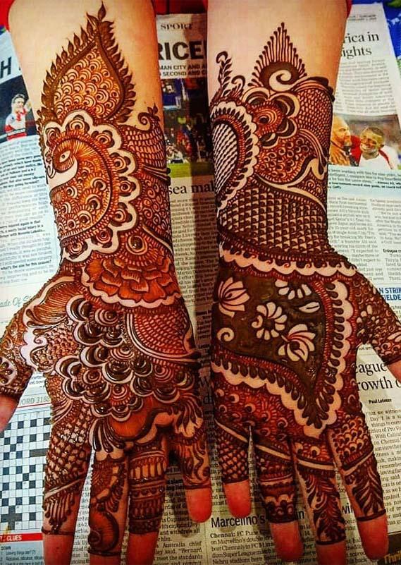 Best Bridal Mehndi Arts You Must Create