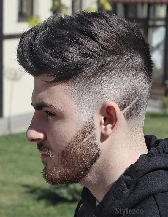 Cool Side Shave Men's Hairstyle Trends In 2019