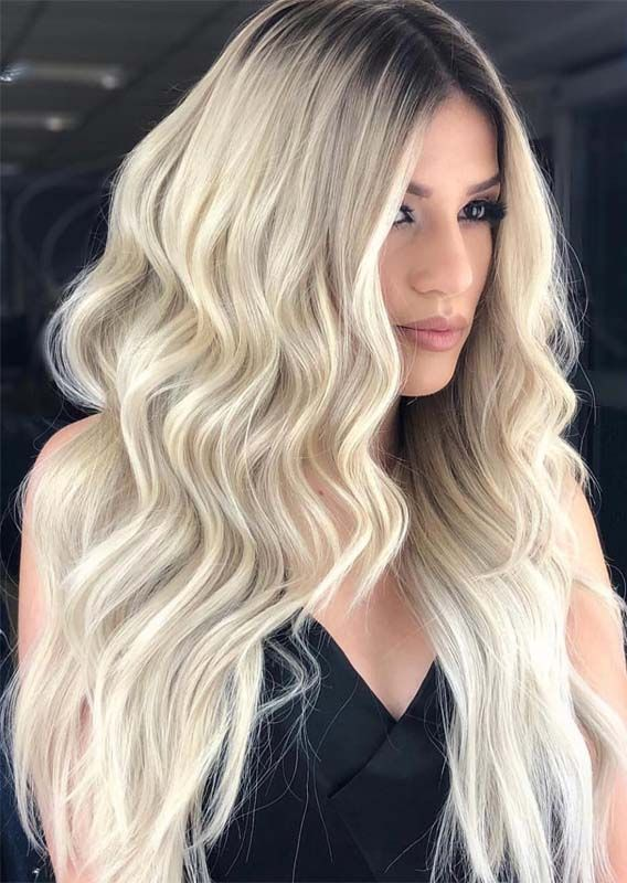 Latest Face Framing Long Blonde Hairstyles Ideas for 2019 ...